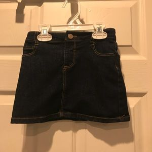 Old Navy size 4t jean skirt